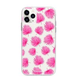 FOONCASE IPhone 11 Pro - Pink leaves