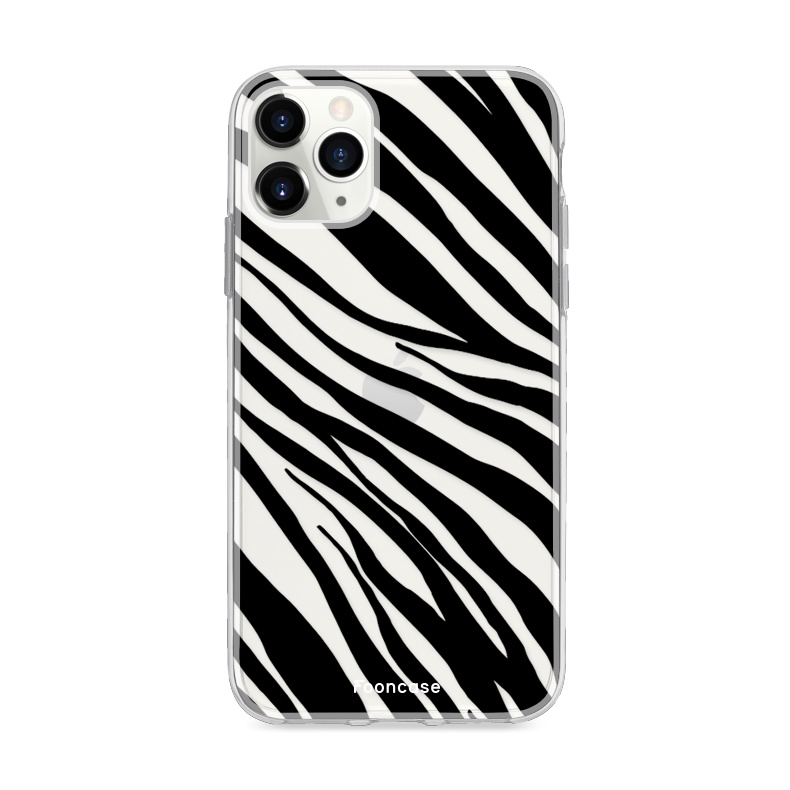 FOONCASE iPhone 11 Pro hoesje TPU Soft Case - Back Cover - Zebra print