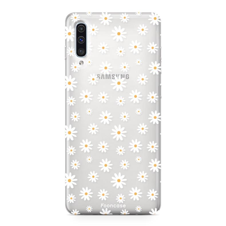 Samsung Galaxy A70 Handyhülle - Gänseblümchen