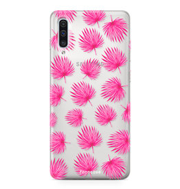 Samsung Galaxy A70 - Pink leaves