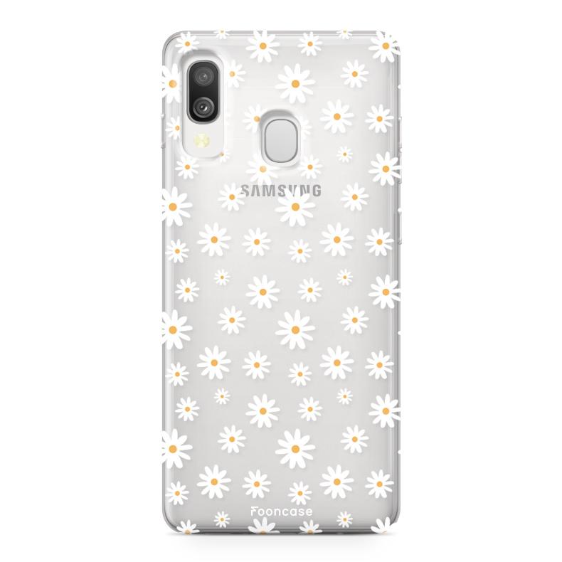 Samsung Galaxy A40 Handyhülle - Gänseblümchen