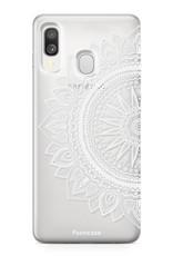 Samsung Galaxy A40 hoesje TPU Soft Case - Back Cover - Mandala / Ibiza