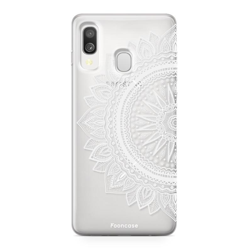 Samsung Galaxy A40 Case - Mandala