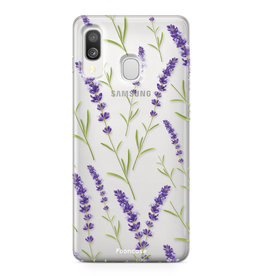 Samsung Galaxy A40 - Purple Flower