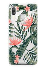 Samsung Galaxy A40 Handyhülle -Tropical Desire