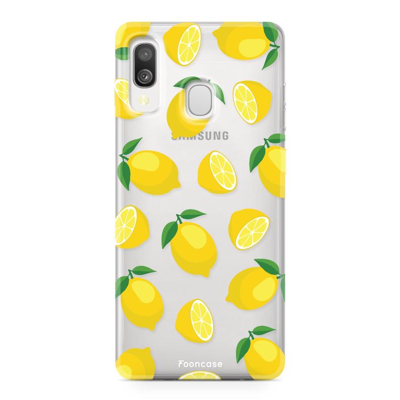 Samsung Galaxy A40 Handyhülle - Lemons