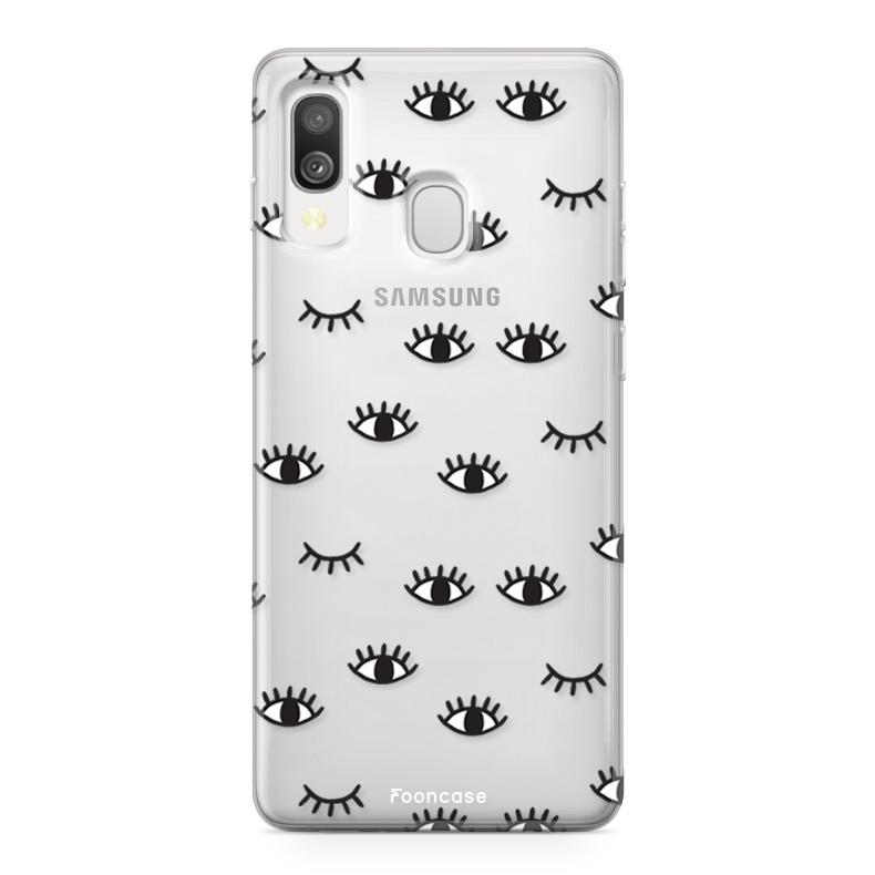 Samsung Galaxy A40 Handyhülle - Eyes