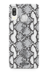 Samsung Galaxy A40 hoesje TPU Soft Case - Back Cover - Snake it / Slangen print