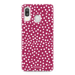 Samsung Galaxy A40 - POLKA COLLECTION / Red