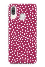 Samsung Galaxy A40 - POLKA COLLECTION / Rot