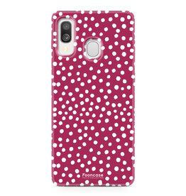 Samsung Galaxy A40 - POLKA COLLECTION / Rood