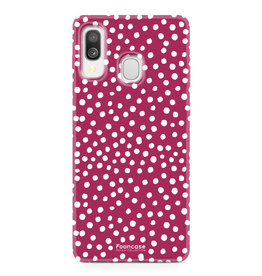 Samsung Galaxy A40 - POLKA COLLECTION / Rot