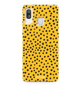 Samsung Galaxy A40 - POLKA COLLECTION / Ocher Yellow