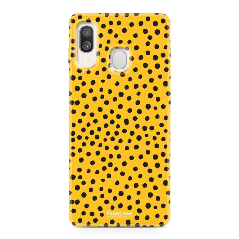 Samsung Galaxy A40 - POLKA COLLECTION / Ockergelb