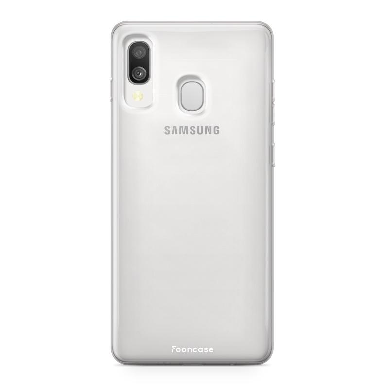 Samsung Galaxy A40 Handyhülle - Transparant