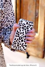 FOONCASE iPhone SE hoesje TPU Soft Case - Back Cover - Luipaard / Leopard print