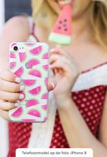 FOONCASE Samsung Galaxy S8 Plus hoesje TPU Soft Case - Back Cover - Watermeloen