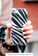 FOONCASE Samsung Galaxy A3 2017 hoesje TPU Soft Case - Back Cover - Zebra print