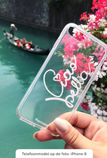 FOONCASE Samsung Galaxy J3 2016 hoesje TPU Soft Case - Back Cover - Ciao Bella!