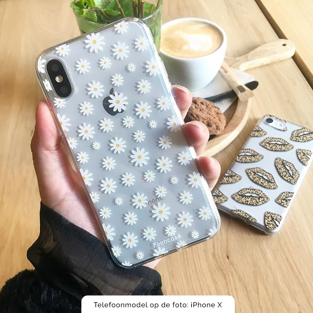 FOONCASE Iphone 8 Plus Handyhülle - Gänseblümchen