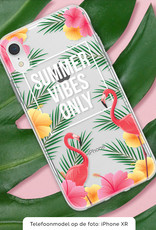 FOONCASE iPhone 7 hoesje TPU Soft Case - Back Cover - Summer Vibes Only