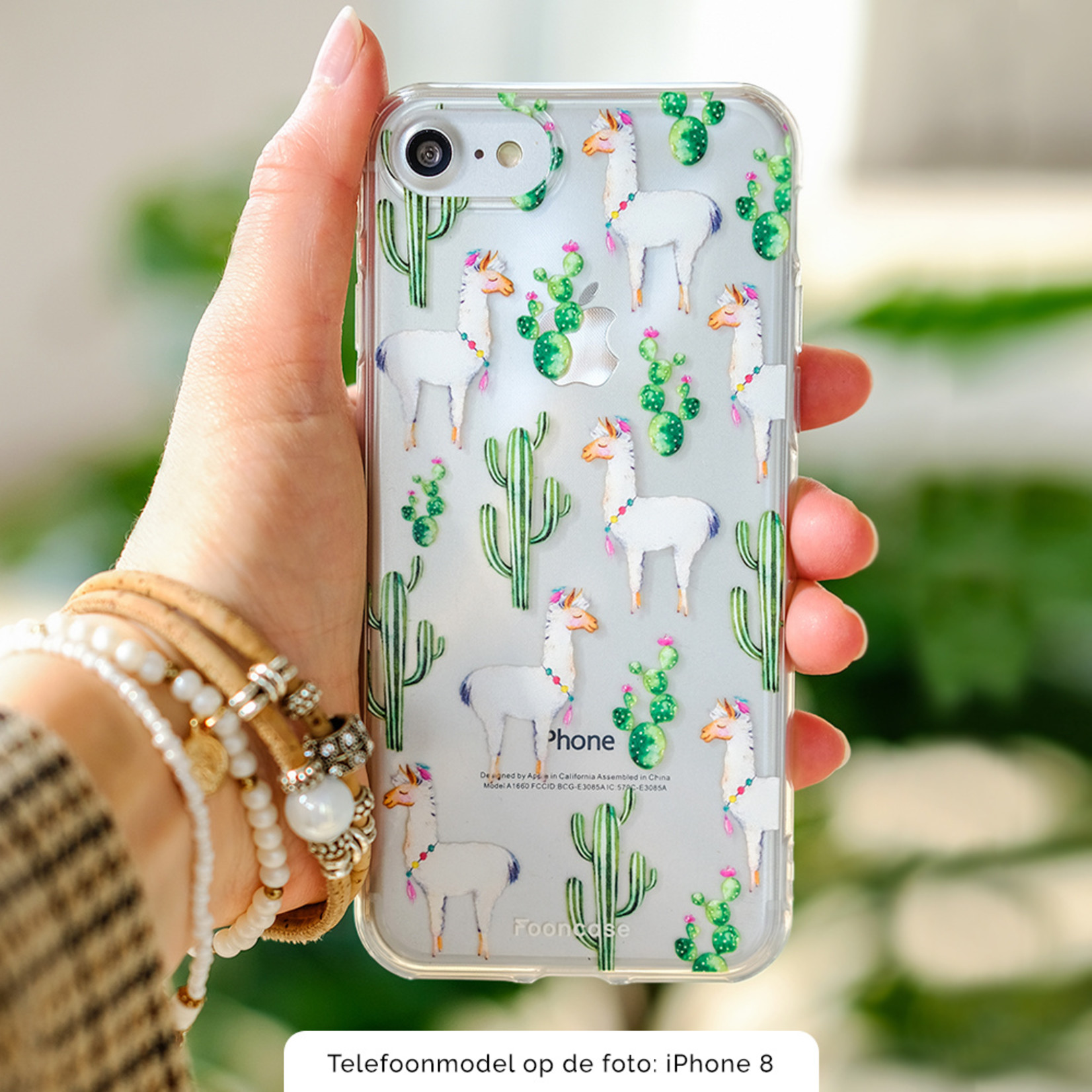 FOONCASE Huawei P20 Lite Handyhülle - Lama