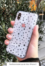 FOONCASE Samsung Galaxy S10 Plus hoesje TPU Soft Case - Back Cover - Stars / Sterretjes