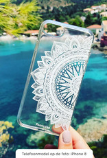 FOONCASE Samsung Galaxy S10 hoesje TPU Soft Case - Back Cover - Mandala / Ibiza
