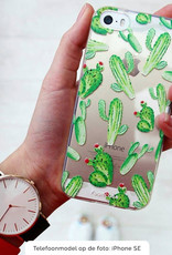 FOONCASE Samsung Galaxy A50 hoesje TPU Soft Case - Back Cover - Cactus