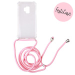 FOONCASE Samsung Galaxy S9 - Festicase Pink (Phone case with cord)