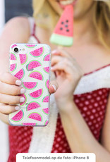 Samsung Galaxy A71 hoesje TPU Soft Case - Back Cover -  Watermeloen