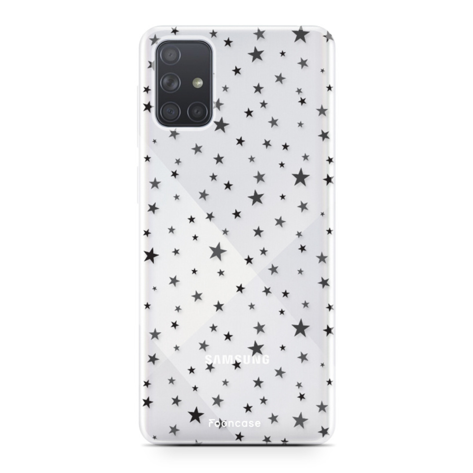 Samsung Galaxy A51 hoesje TPU Soft Case - Back Cover - Stars / Sterretjes