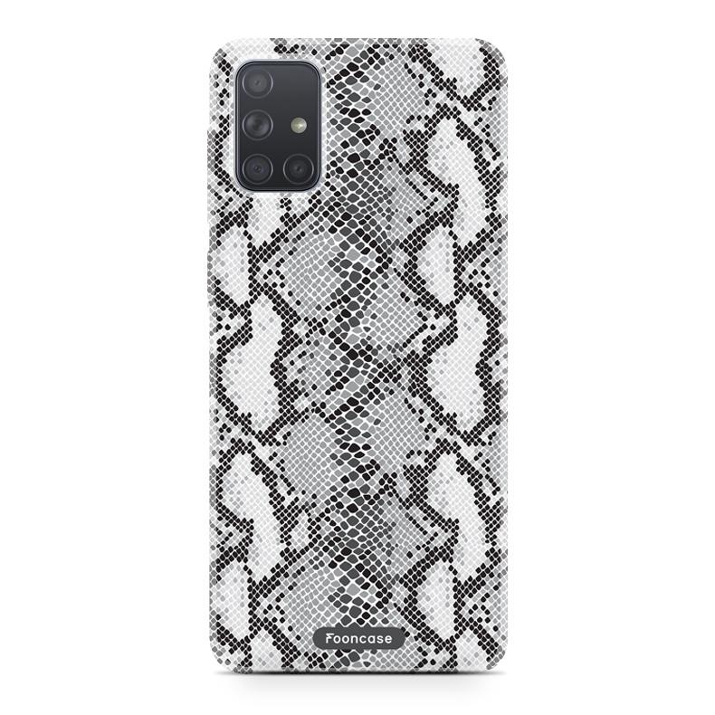 Samsung Galaxy A51 hoesje TPU Soft Case - Back Cover - Snake it / Slangen print
