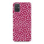 Samsung Galaxy A51 - POLKA COLLECTION / Rood