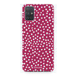 Samsung Galaxy A51 - POLKA COLLECTION / Rot
