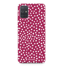 Samsung Galaxy A51 - POLKA COLLECTION / Rood