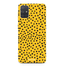Samsung Galaxy A51 - POLKA COLLECTION / Oker Geel