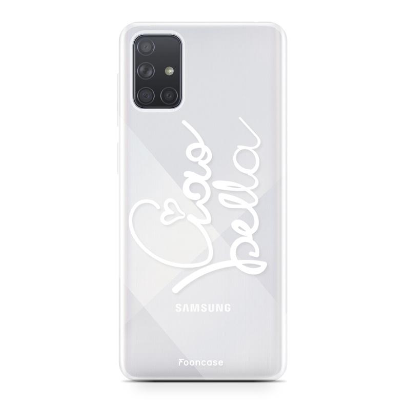 Samsung Galaxy A71 Handyhülle Ciao Bella!