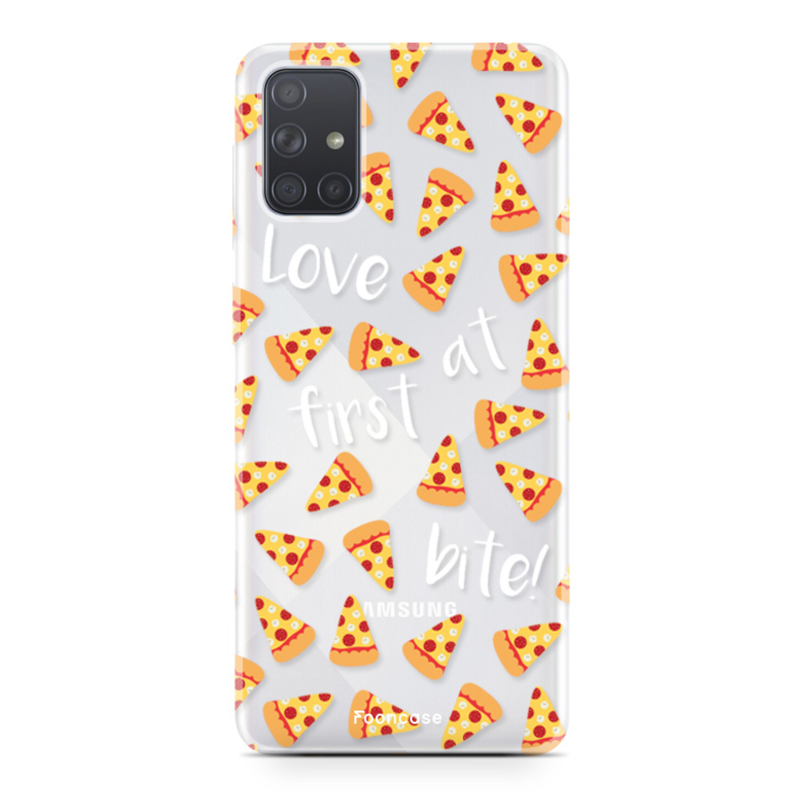 Samsung Galaxy A71 hoesje TPU Soft Case - Back Cover - Pizza / Food