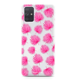 Samsung Galaxy A71 - Pink leaves