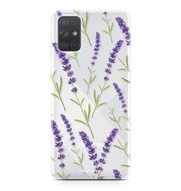 Samsung Galaxy A71 - Purple Flower