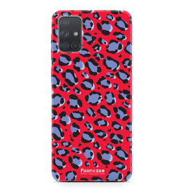 Samsung Galaxy A71 - WILD COLLECTION / Rood
