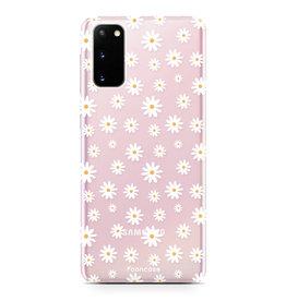 FOONCASE Samsung Galaxy S20 - Daisies