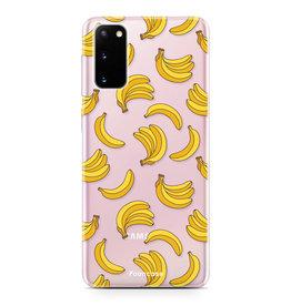 FOONCASE Samsung Galaxy S20 - Bananas