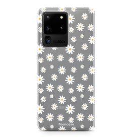 FOONCASE Samsung Galaxy S20 Ultra - Daisies