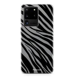 FOONCASE Samsung Galaxy S20 Ultra - Zebra