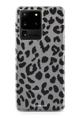 FOONCASE Samsung Galaxy S20 Ultra hoesje TPU Soft Case - Back Cover - Luipaard / Leopard print