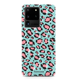 FOONCASE Samsung Galaxy S20 Ultra - WILD COLLECTION / Blauw