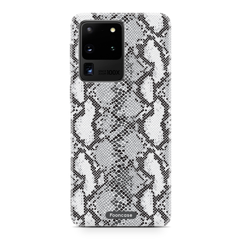 FOONCASE Samsung Galaxy S20 Ultra - hoesje TPU Soft Case - Back Cover - Snake it / Slangen print