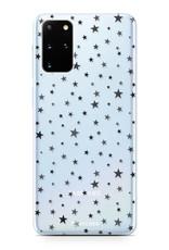 FOONCASE Samsung Galaxy S20 Plus hoesje TPU Soft Case - Back Cover - Stars / Sterretjes